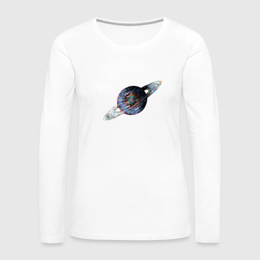 Psychadelic Saturn - Women's Premium Long Sleeve T-Shirt