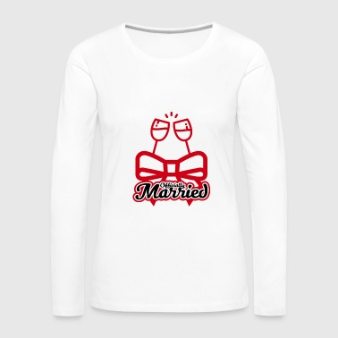 Married - Women's Premium Long Sleeve T-Shirt