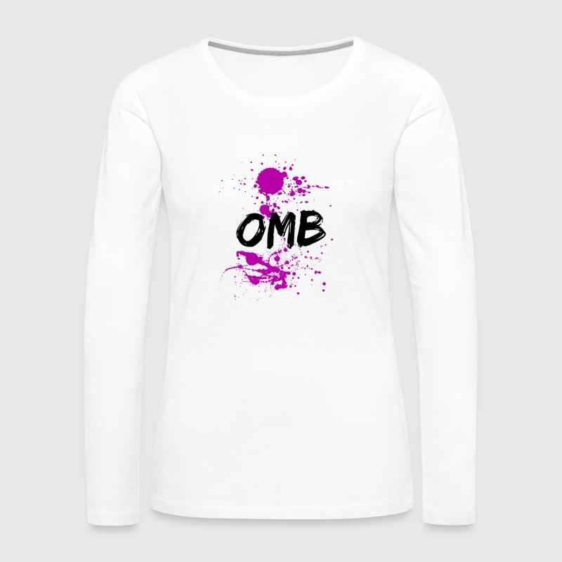 OMB-dripping sauce - Women's Premium Long Sleeve T-Shirt