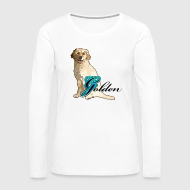 Golden - Women's Premium Long Sleeve T-Shirt