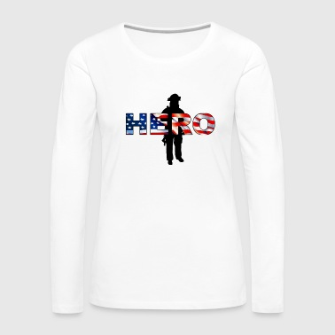 American Pride - Women's Premium Long Sleeve T-Shirt