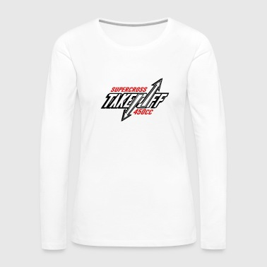 TakeOff-Supercross450cc - Women's Premium Long Sleeve T-Shirt