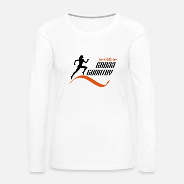 Cross Country Cross country - Women's Premium Long Sleeve T-Shirt