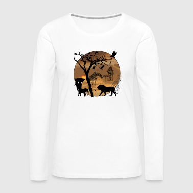 Safari - Women's Premium Long Sleeve T-Shirt
