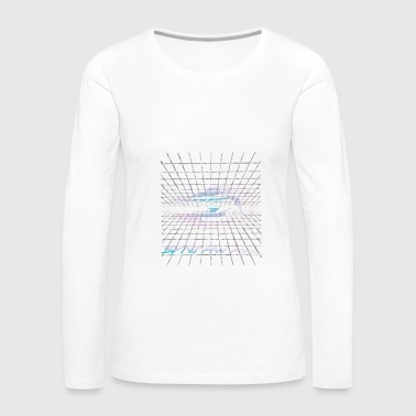 1988 Synthwave - NEON - Women's Premium Long Sleeve T-Shirt