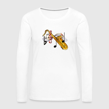 Saxophone - Women's Premium Long Sleeve T-Shirt