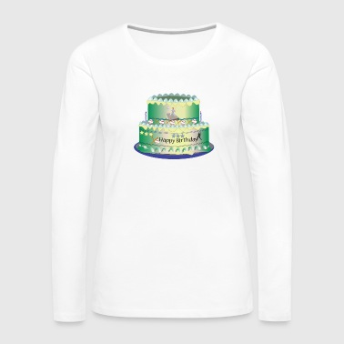 Birthday Cake - Women's Premium Long Sleeve T-Shirt