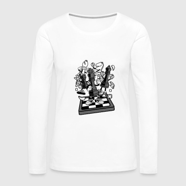 Chess Chess - Women's Premium Long Sleeve T-Shirt