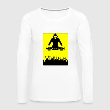 dj dj dj - Women's Premium Long Sleeve T-Shirt