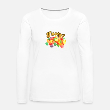 Tasty Tasty - Women's Premium Long Sleeve T-Shirt