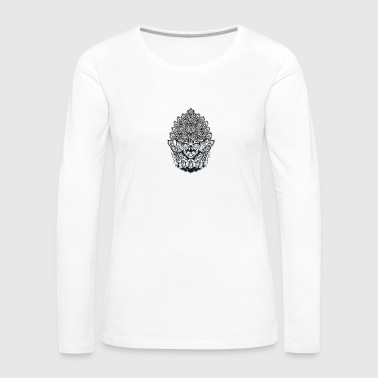 Bali Mandala - Women's Premium Long Sleeve T-Shirt