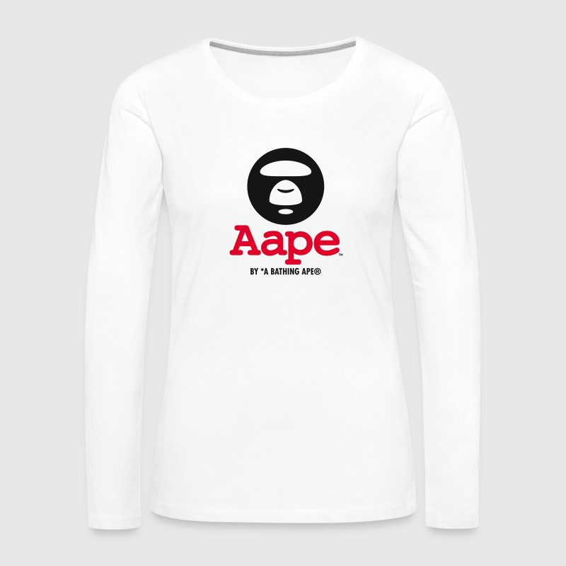 Aape x A bathing aape - Women's Premium Long Sleeve T-Shirt