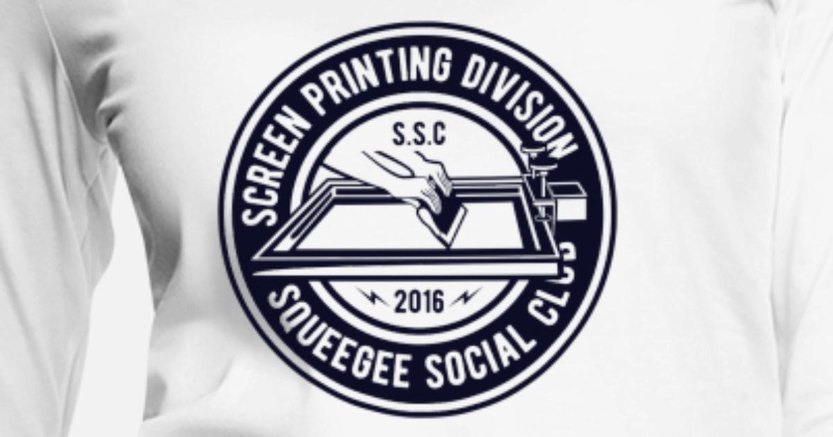 828772c8491e Screen Printing Division - Squeegee Social Clubs Women's Premium Longsleeve  Shirt | Spreadshirt