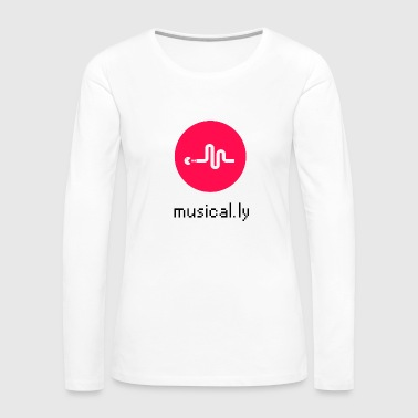 Musical.ly PocketMan - Women's Premium Long Sleeve T-Shirt