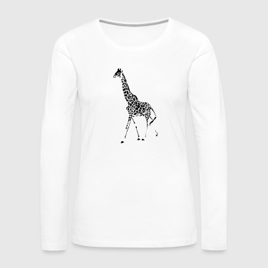 Giraffe - Women's Premium Long Sleeve T-Shirt