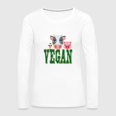 VEGAN - Women's Premium Long Sleeve T-Shirt