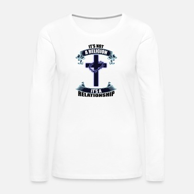 Girl Power Christian, Faith, Believer Tee, Relationship Shirt - Women's Premium Long Sleeve T-Shirt