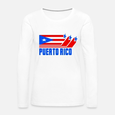 Culture Puerto Rico - Women's Premium Long Sleeve T-Shirt