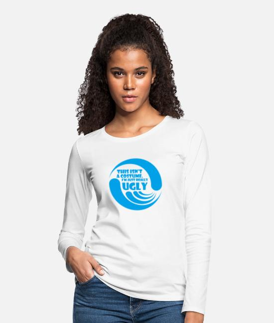 Movie Long-Sleeved Shirts - This Isn t A Costume - Women's Premium Longsleeve Shirt white