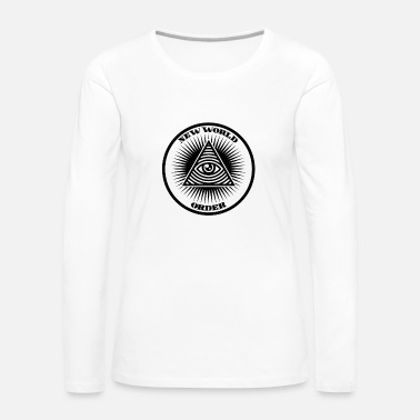New World Order New world order - Women's Premium Long Sleeve T-Shirt