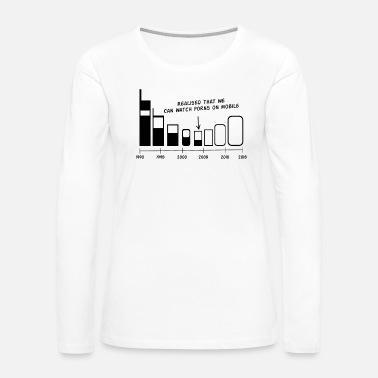 Mobile Mobile Evolution - Women's Premium Long Sleeve T-Shirt