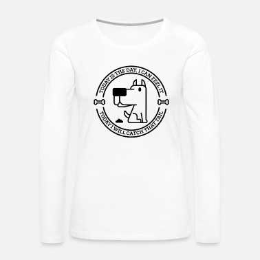 Staff Animals Dog Day Black Funny Gift - Women's Premium Long Sleeve T-Shirt