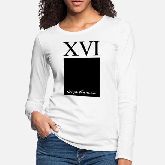 XVI Special Edition Threads Women's Premium Longsleeve Shirt