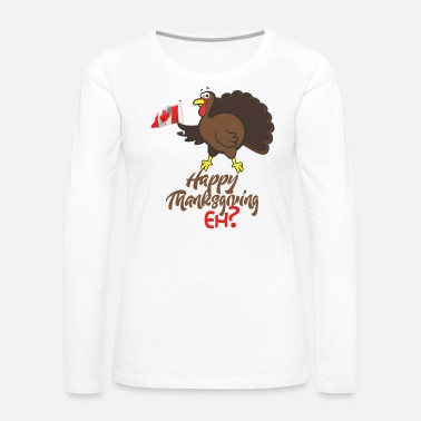Meal Funny Thanksgiving - Turkey Meal Feast Dinner - Women's Premium Long Sleeve T-Shirt