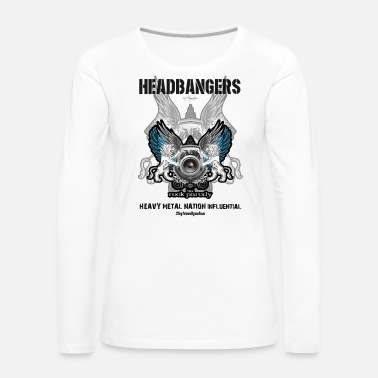 Headbanger We, The HeadBangers - Women's Premium Long Sleeve T-Shirt