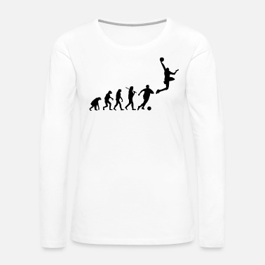 Basketball Player sports evo - Women's Premium Long Sleeve T-Shirt