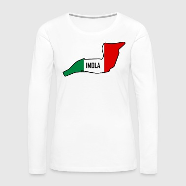 Motorsport Imola Circuit - Women's Premium Long Sleeve T-Shirt