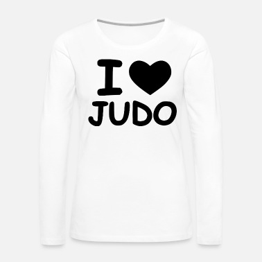 Punch time for judo - Women's Premium Long Sleeve T-Shirt
