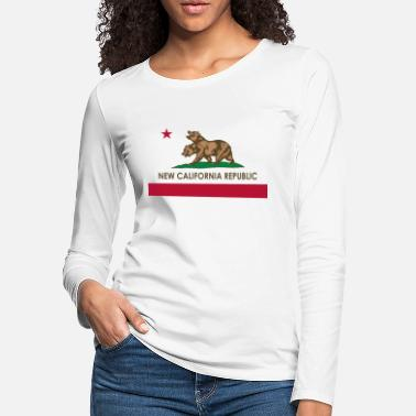 California Fallout New California Republic - Women's Premium Longsleeve Shirt