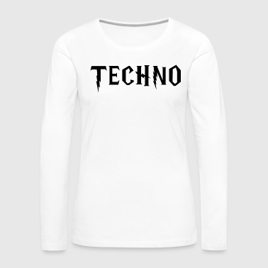 Mdma Techno - Women's Premium Long Sleeve T-Shirt