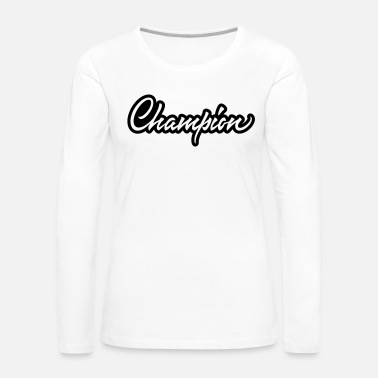 Champion Champion - Women's Premium Long Sleeve T-Shirt