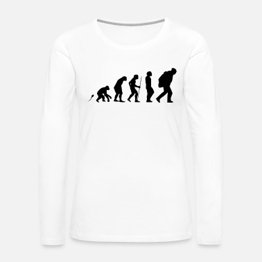 Trek WANDERN EVO 2 - Women's Premium Long Sleeve T-Shirt