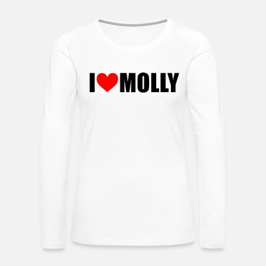 Molly I love molly - Women's Premium Long Sleeve T-Shirt