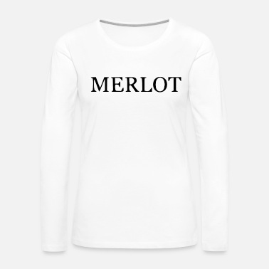 Wine merlot - Women's Premium Long Sleeve T-Shirt