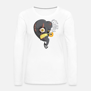 Black Heart Black Heart - Women's Premium Long Sleeve T-Shirt