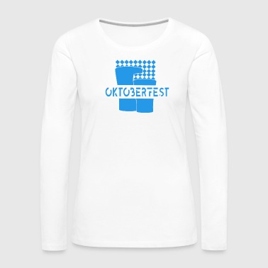 Bavaria Oktoberfest in Bavaria Munich Germany - Women's Premium Long Sleeve T-Shirt