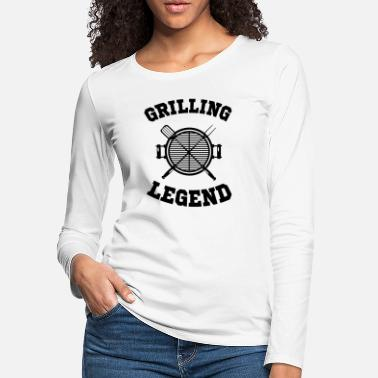 Bacon Grilling Legend - Women's Premium Longsleeve Shirt