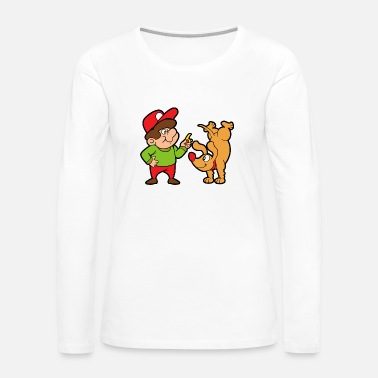 Pet Dog Trainer - Women's Premium Long Sleeve T-Shirt
