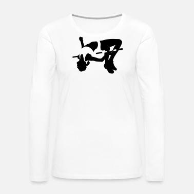 High Jumping Womens Premium T Shirt