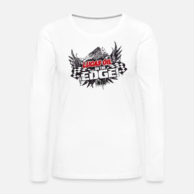 Lucas Lucas Oil On Edge - Women's Premium Long Sleeve T-Shirt