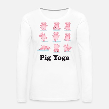 Asian Year of the Pig Chinese New Year 2019 Zodiac - Women's Premium Long Sleeve T-Shirt