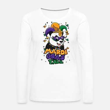 Crab Mardi Gras Parade 2019 Beads Party Shirt Gift - Women's Premium Long Sleeve T-Shirt