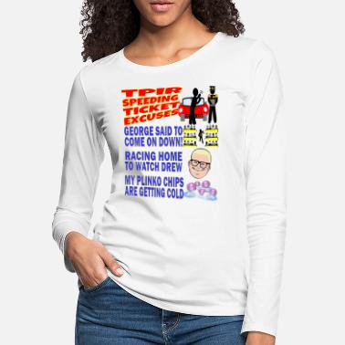 TV Game Show Contestant - TPIR (The Price Is) - Women's Premium Longsleeve Shirt