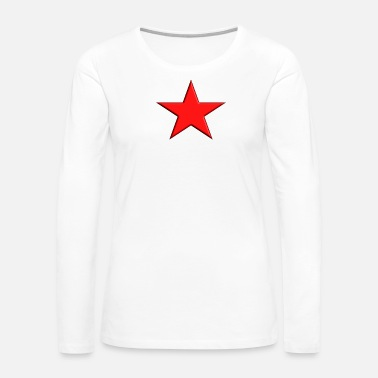 Red Star Red Star - Women's Premium Long Sleeve T-Shirt