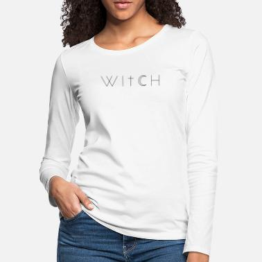 Coven Witch Wiccan Halloween Moon - Women's Premium Longsleeve Shirt