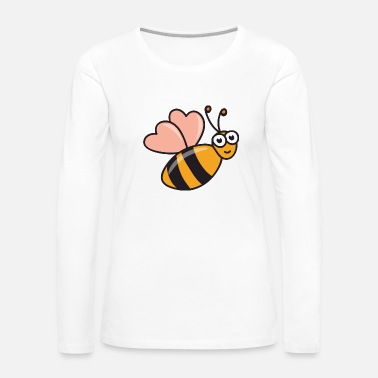 Natural Bees Beekeeper Beekeeping - Women's Premium Long Sleeve T-Shirt